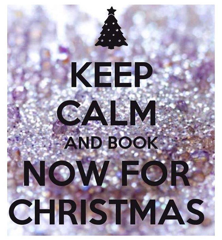 Book Your Christmas Appointments Now! | Tease Salon