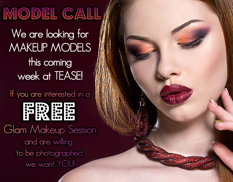 Have you always wondered what your makeup could look like if you had it done professionally? Well…here's your chance…and you can get it done for FREE!